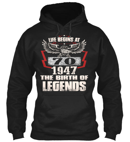 Life begins at 1947-70-shirt