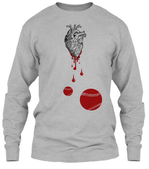 Heart Bleeds Baseball / Softball - Tees