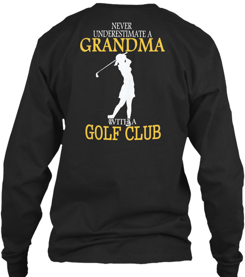 Limited - Golf Club Grandma Shirt