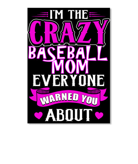 Crazy Baseball Mom Tank
