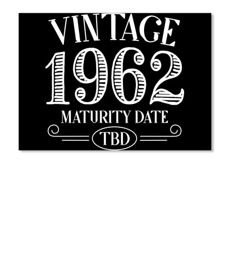 Vintage 1962 Birthday Shirt