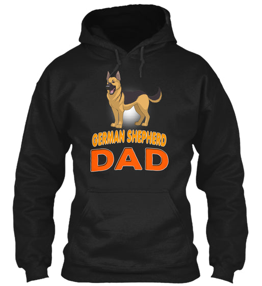 German Shepherd Funny Dog Dad