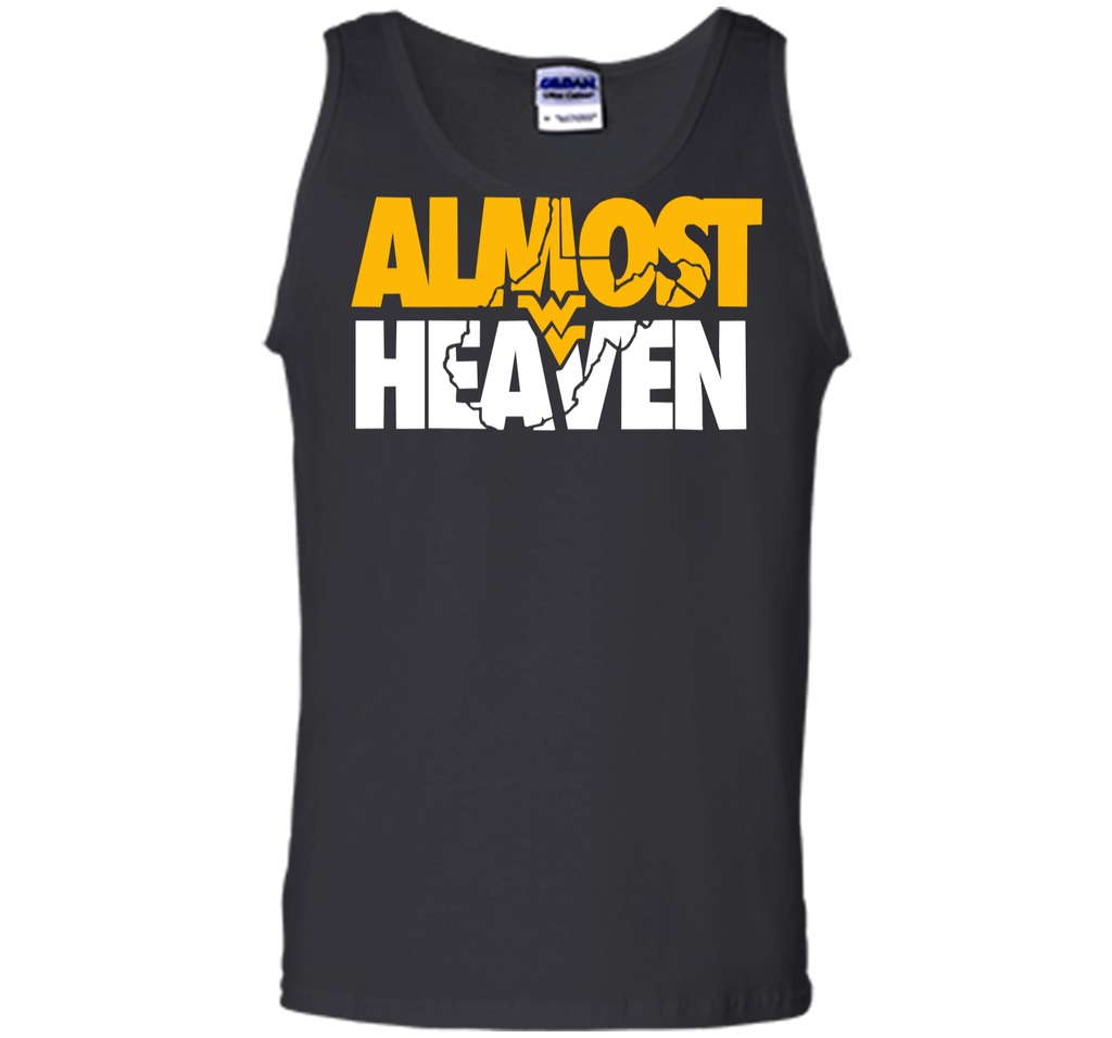 Almost Heaven West Virginia Tee - Gifts For WVU Mountaineer Tank Top