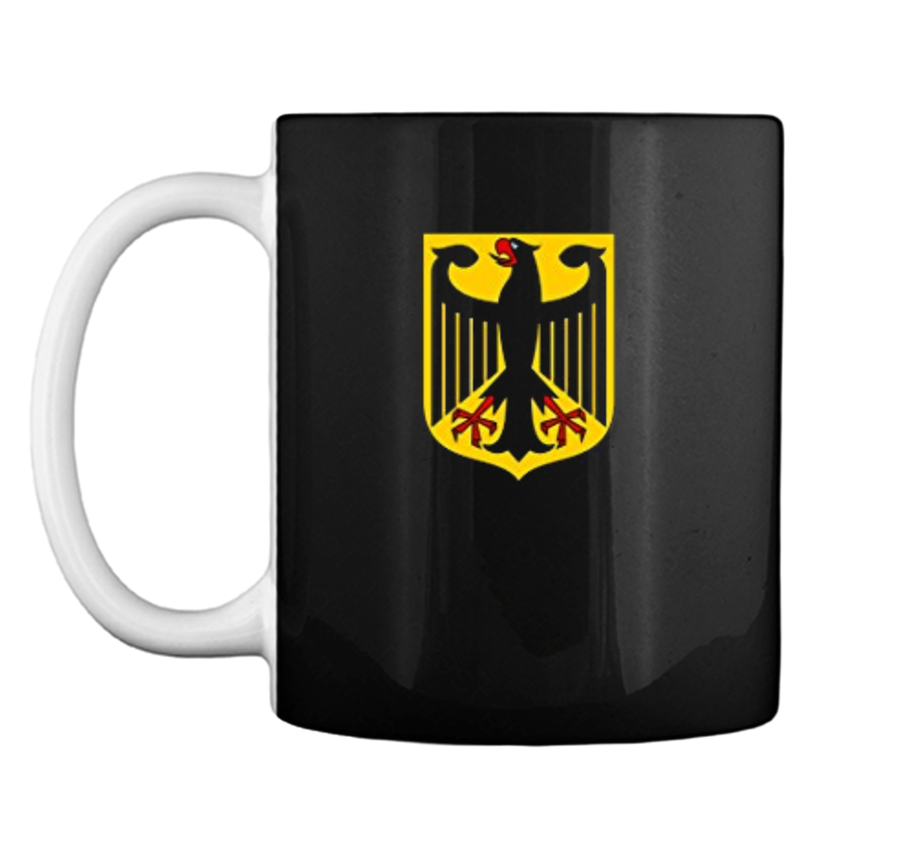 German Eagle Bundesadler Coat Of Arms  Mug