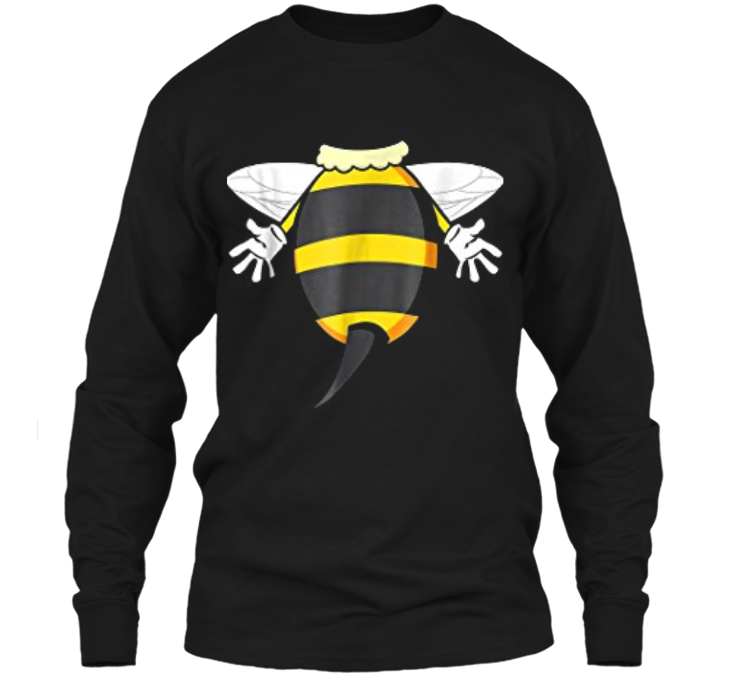 a76a1056d Funny Bee Costume Easy - Honeybee Halloween Cheap Gift LS Ultra Cotton  Tshirt