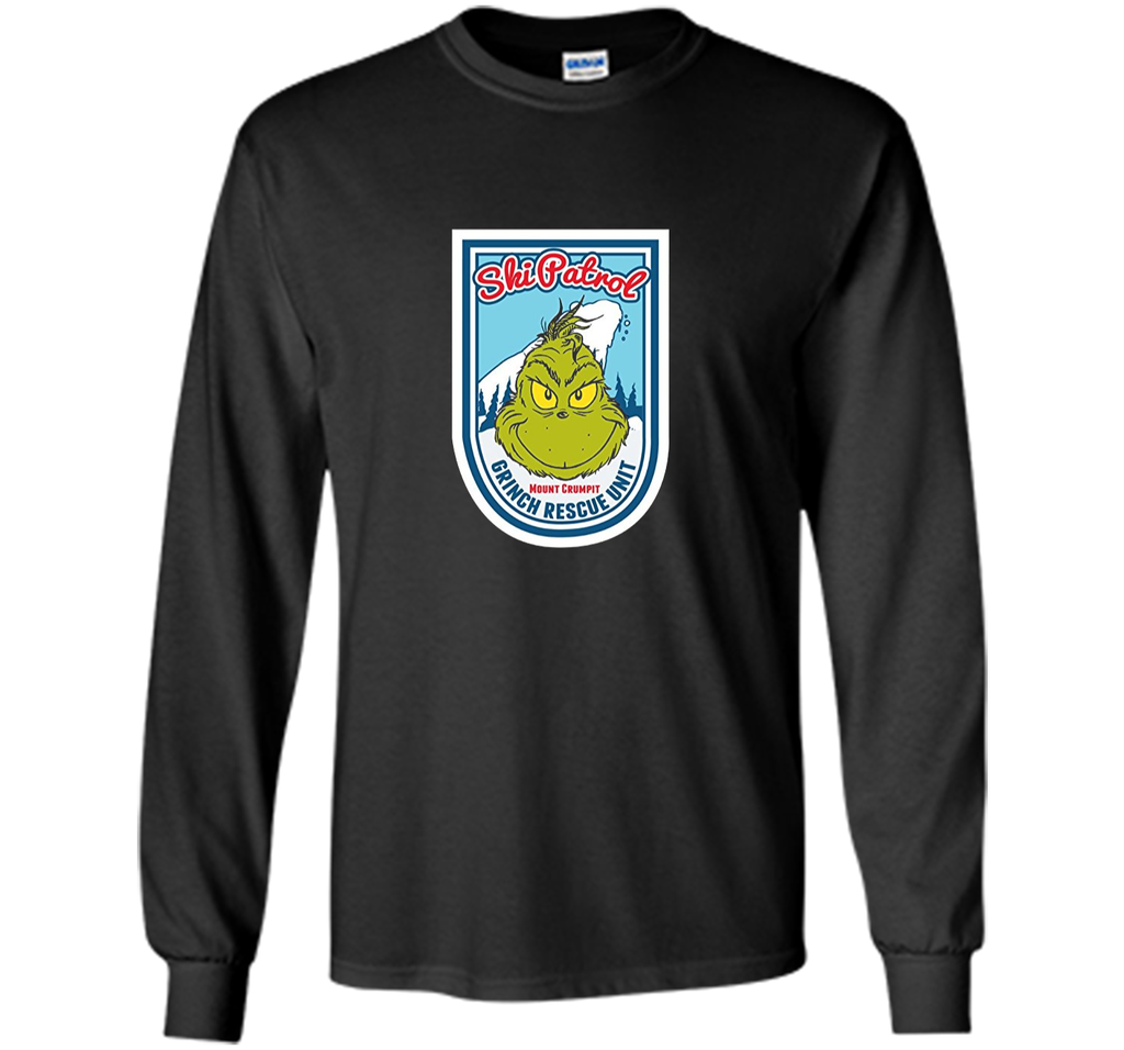 Dr. Seuss Grinch Ski Patrol Rescue Unit T-shirt
