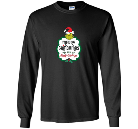 Dr. Seuss Grinch Happy New Year T-shirt