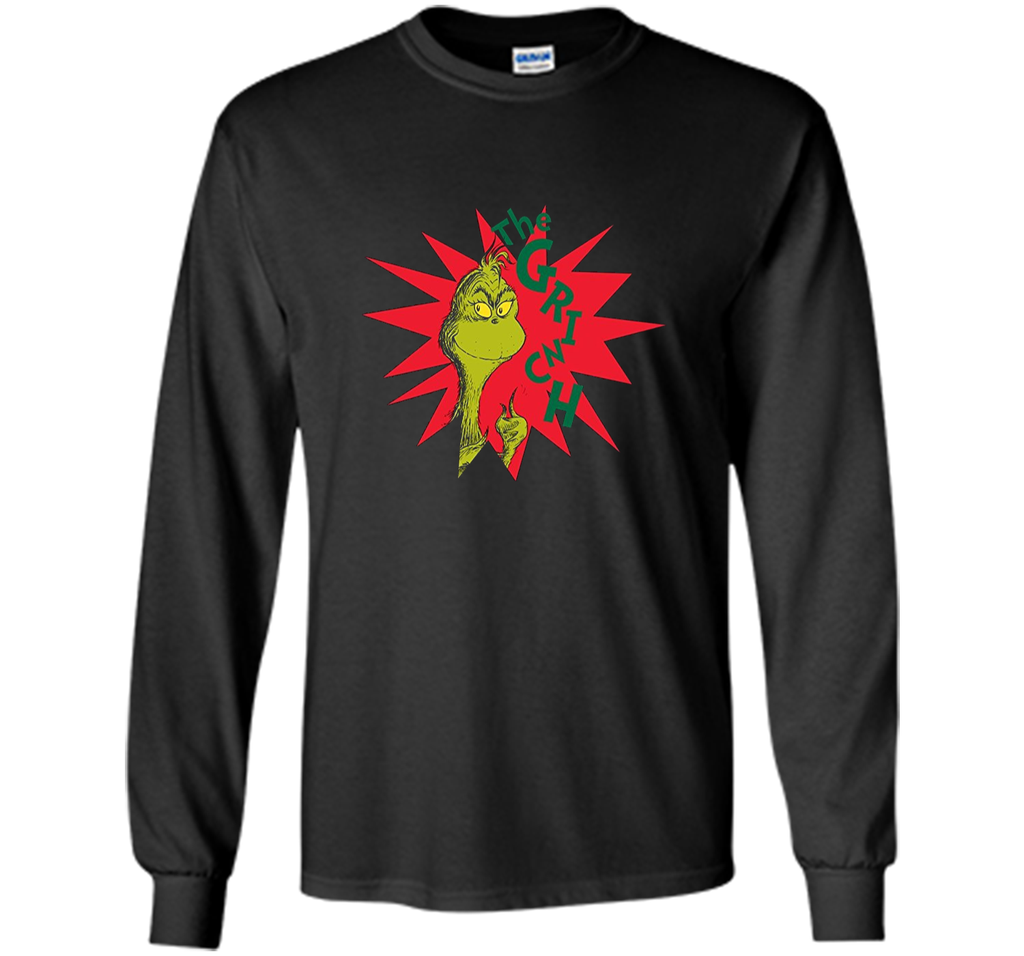 Dr. Seuss Grinch Burst T-shirt