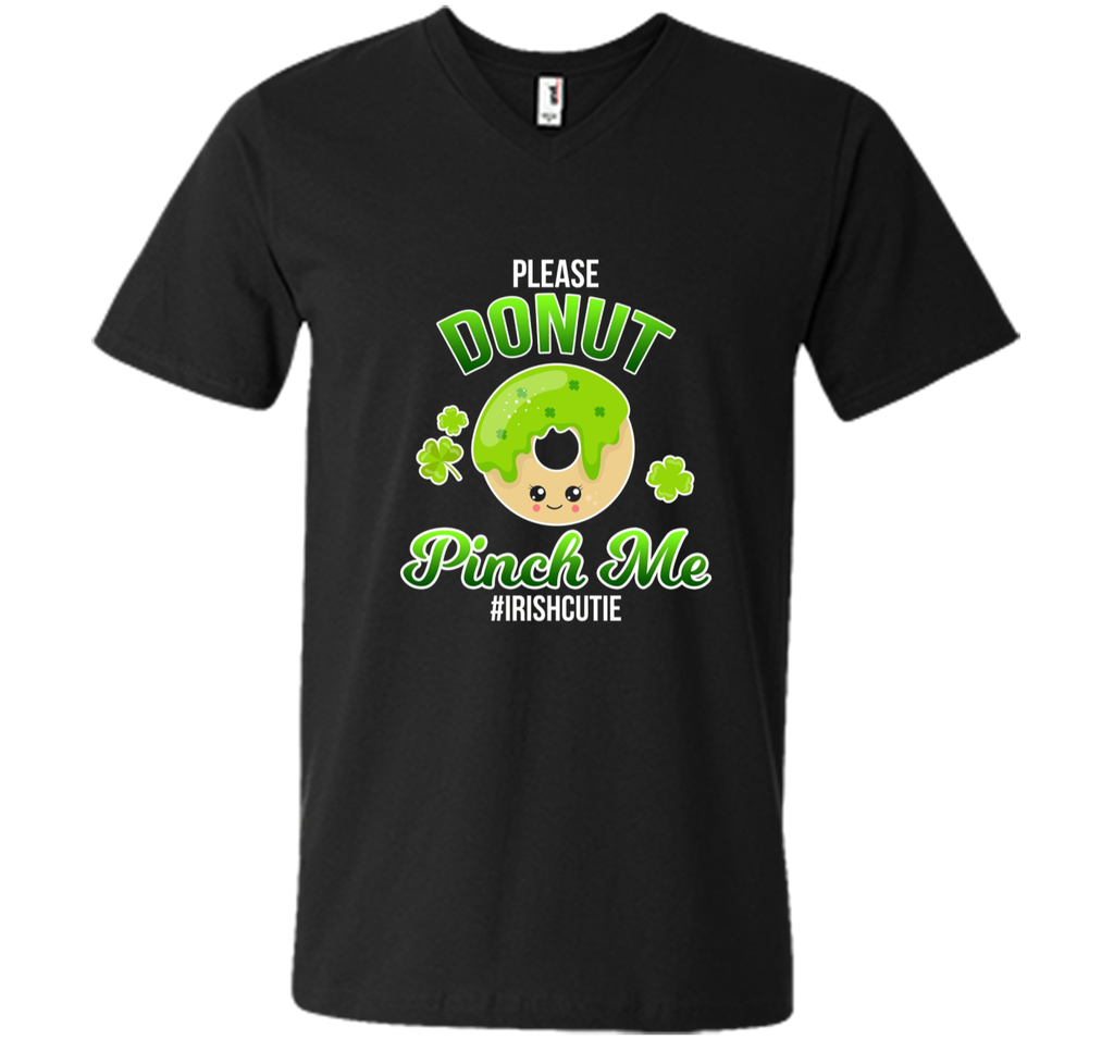 Cute St Patricks Day Shirt Donut Pinch Me Funny Tee
