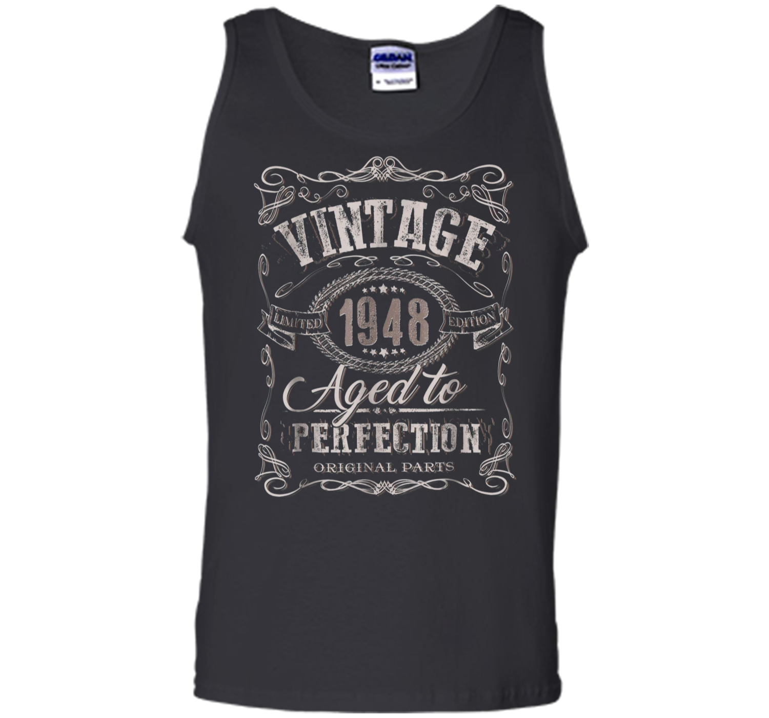 68ee11270 70th Birthday gift Vintage dude 1948 70 year old Tank Top Tank Top ...