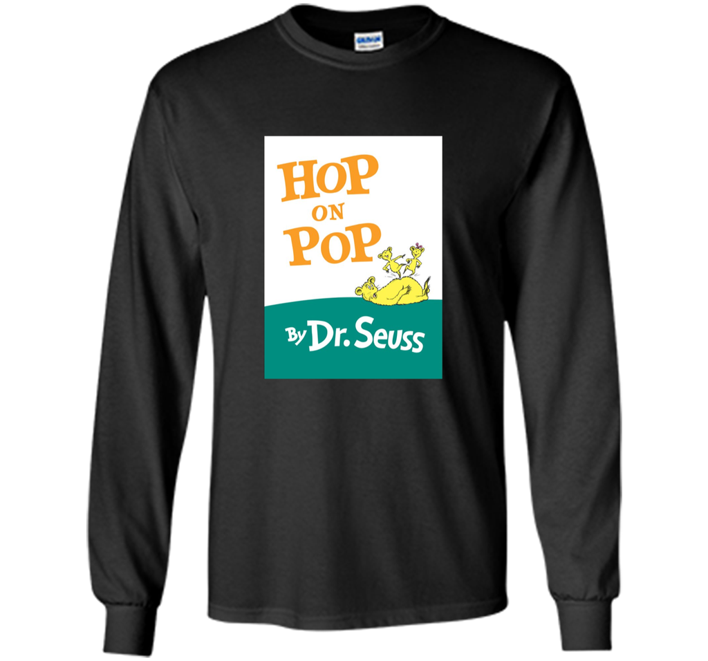 Dr. Seuss Hop On Pop Book Cover T-shirt