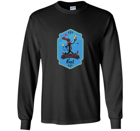 Dr. Seuss The Cat in the Hat Snowshoe Badge T-shirt