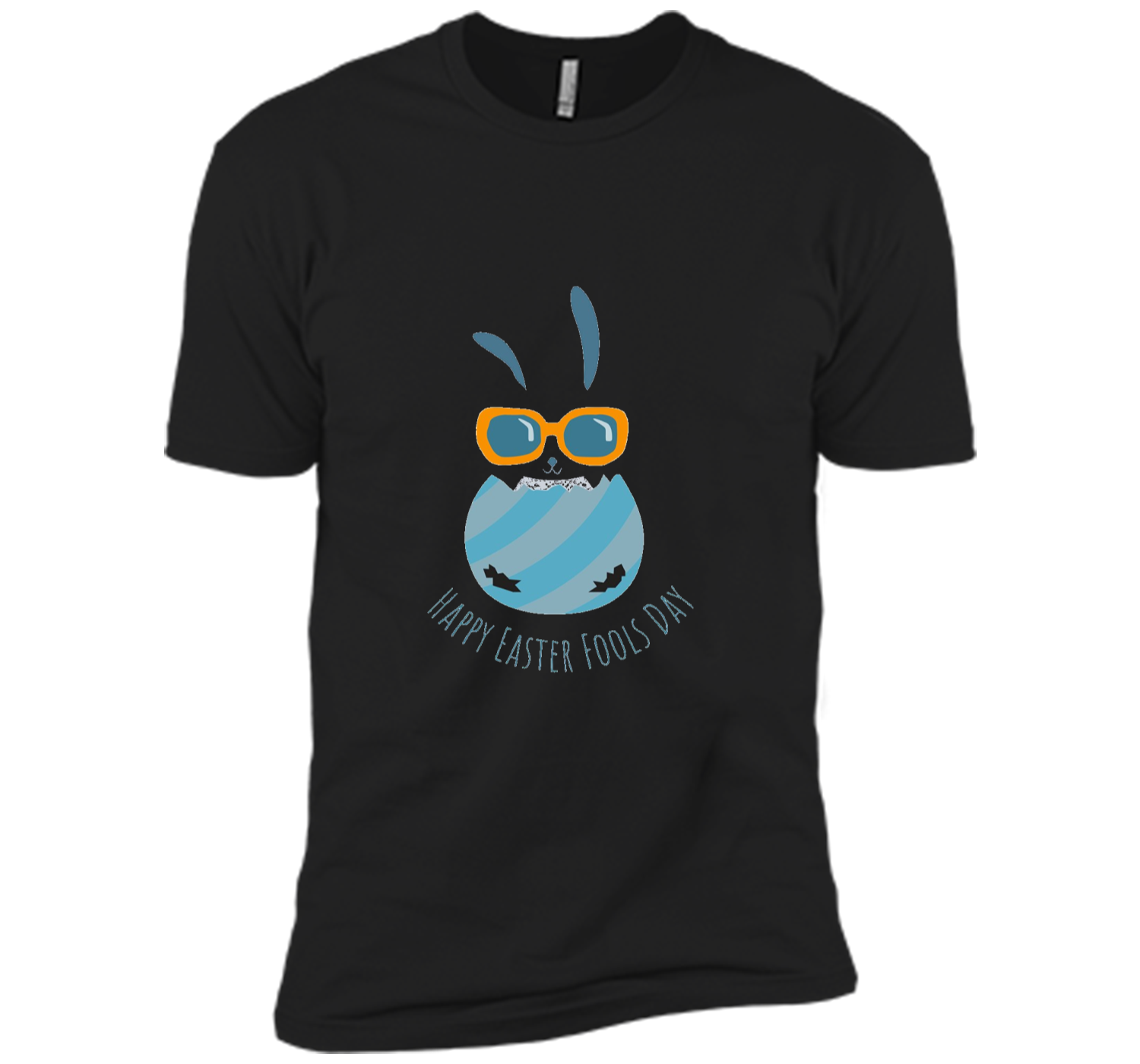 a04b233308e Easter Shirt for boys 2018 - Funny April fools Day Bunny Next Level ...