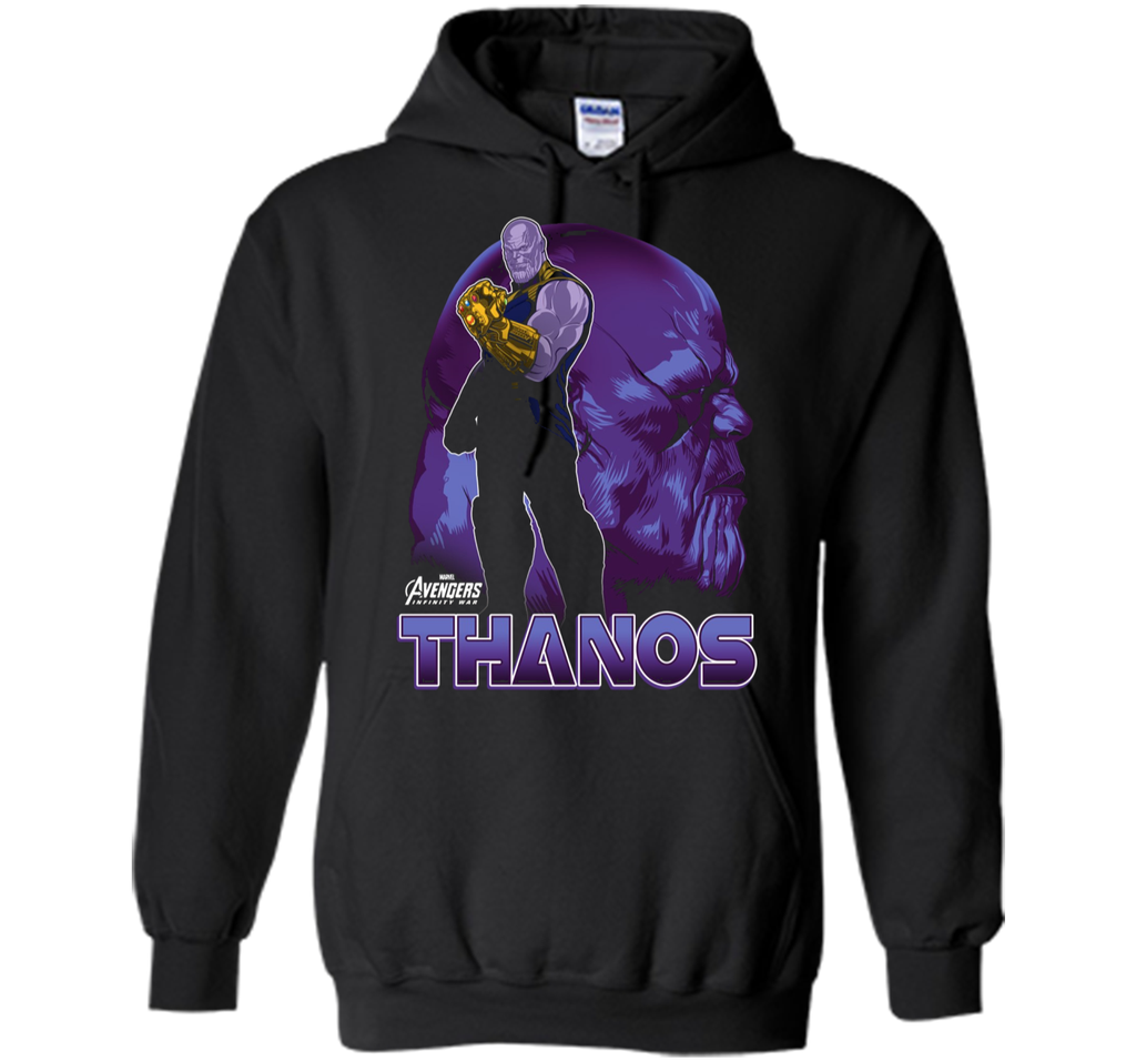 Marvel Infinity War Thanos Big Head Profile Premium T-Shirt
