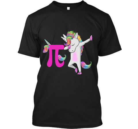 Happy Pi Day Funny Unicorn Dabbing Math  For Girls Custom Ultra Cotton