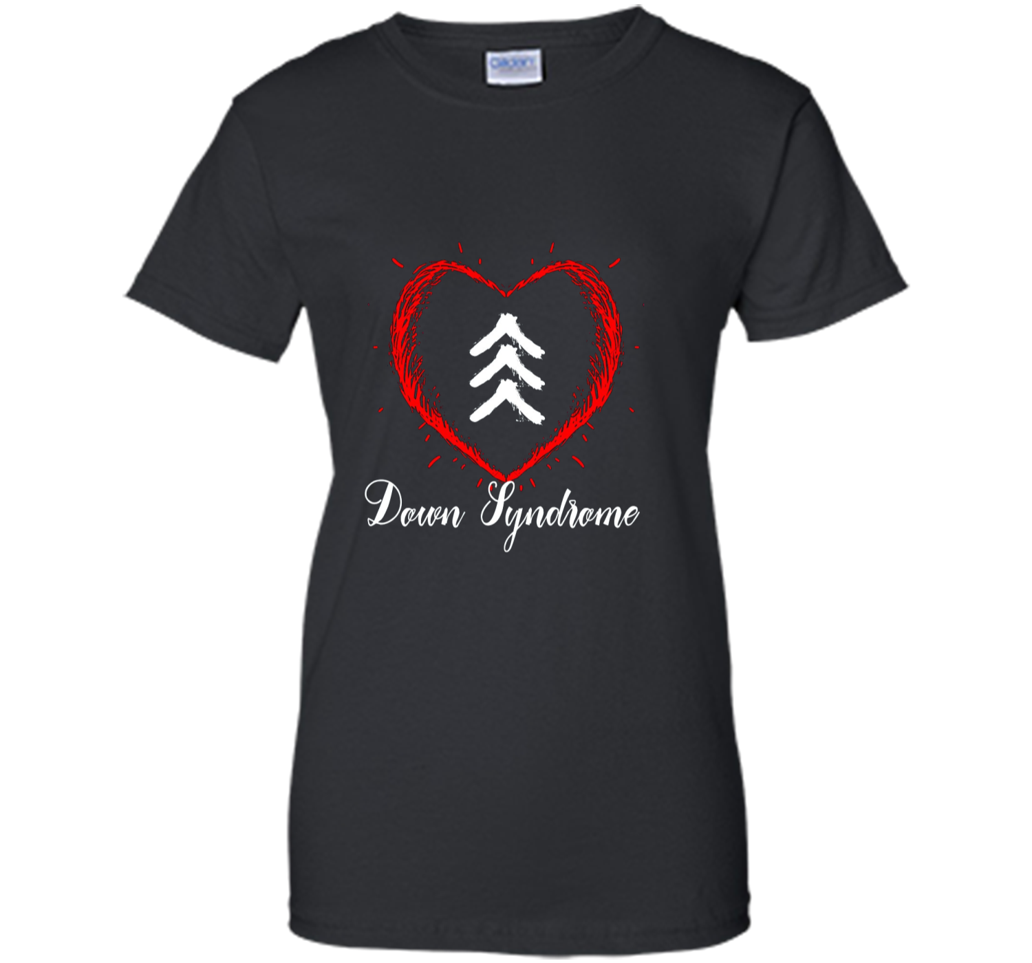 0541d3b6ac609 Love World Down Syndrome Awareness Day Love 3 Arrows Shirt Ladies ...