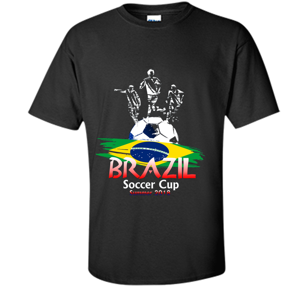 Team Brazil Soccer June 2018 World In Russia T-shirt
