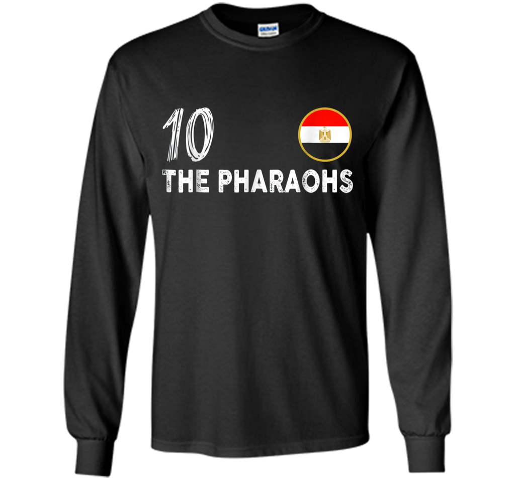 Egypt Soccer Shirt Russia 2018 Football Fan The Pharaohs #10