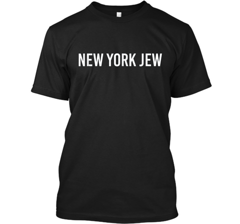New York Jew Jewish Pride  Custom Ultra Cotton