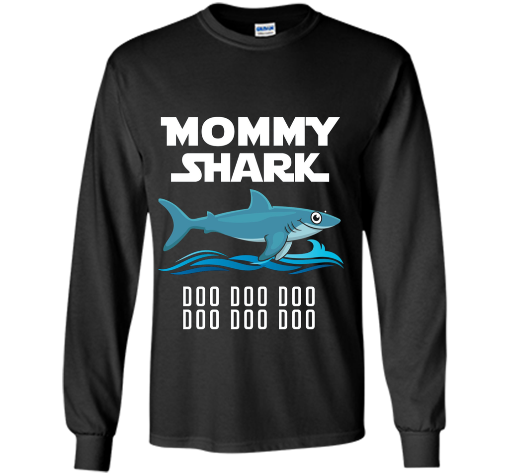Mommy Shark T-shirt Doo Doo Doo - Mother's Day Gift Tee