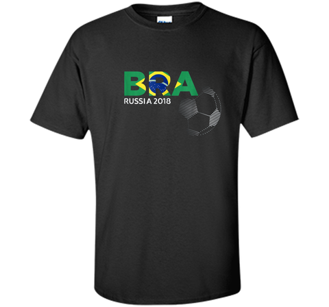 BRA Brazil World Football Team Cup Russia 2018 Flag Tshirt