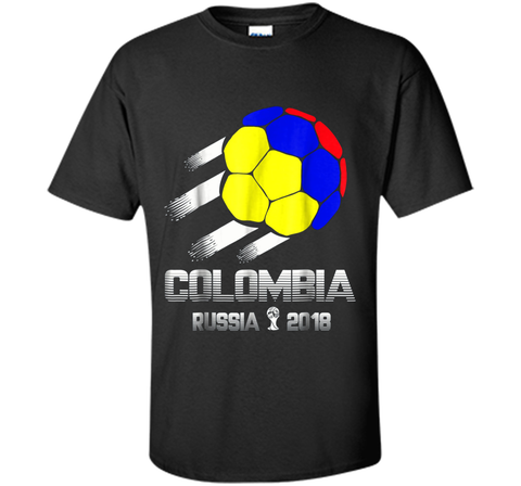 Colombia Team Tshirt - 2018 cup tournament In Russia