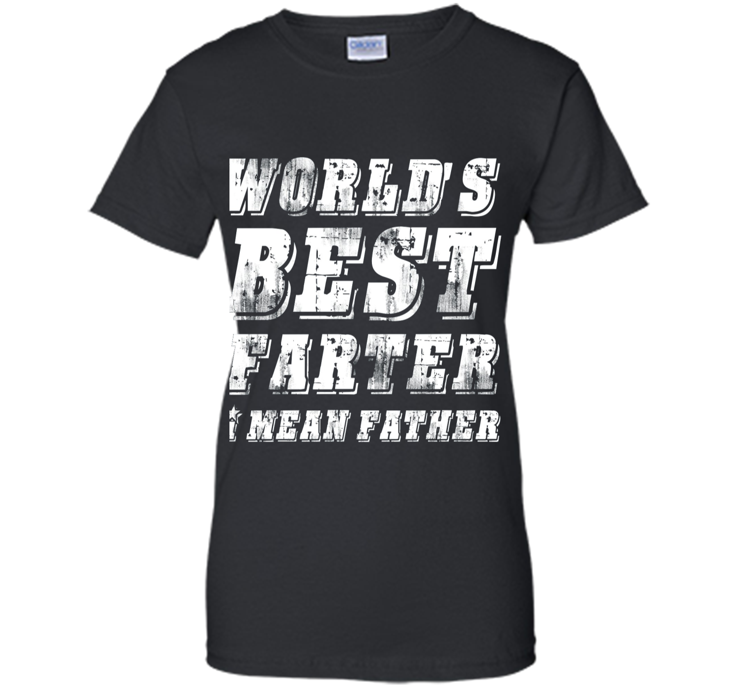 70097d92 Mens World's Best Farter I Mean Father Shirt Father's Day Gift ...