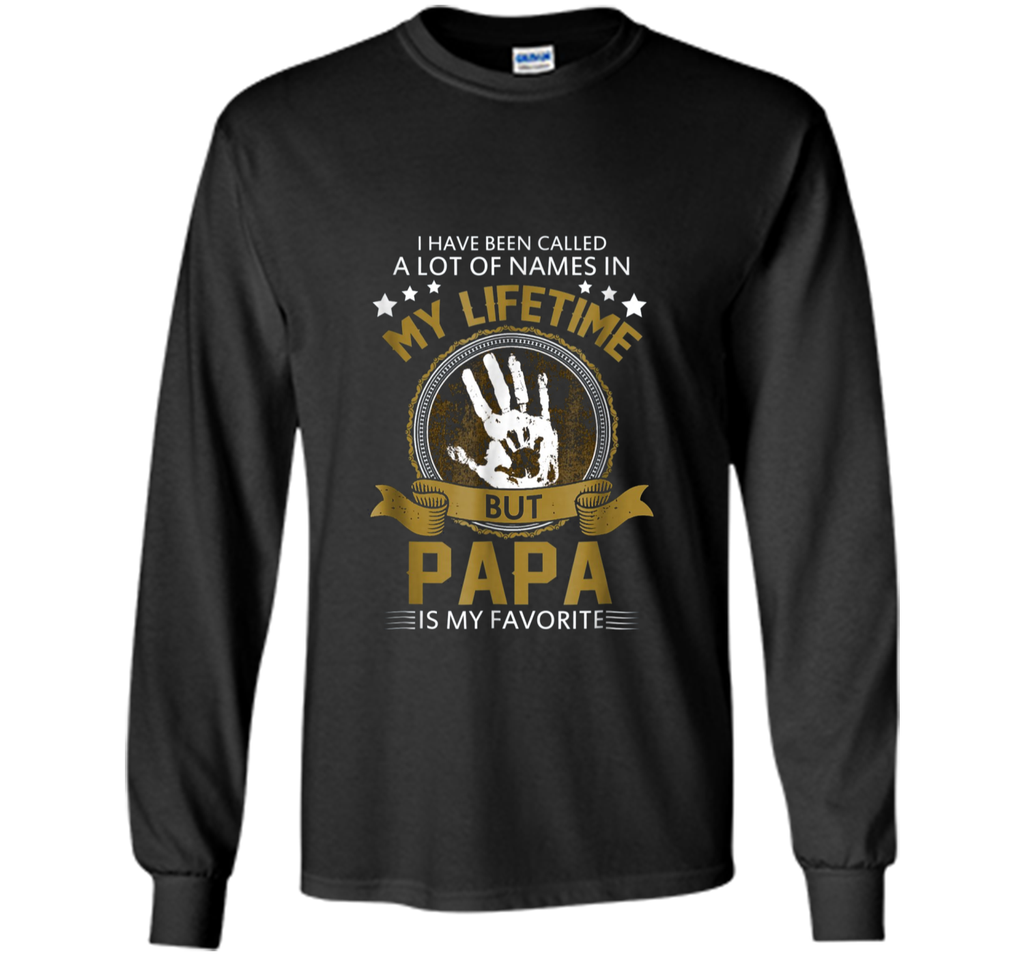 Papa Is My Favorite Name T Shirt Father s day Shirt For Dad