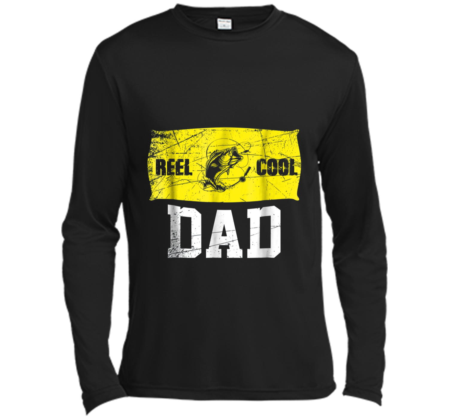 18a34aa93 Mens Reel Cool Dad T-Shirt Fishing Daddy Father's Day Gift S Long ...