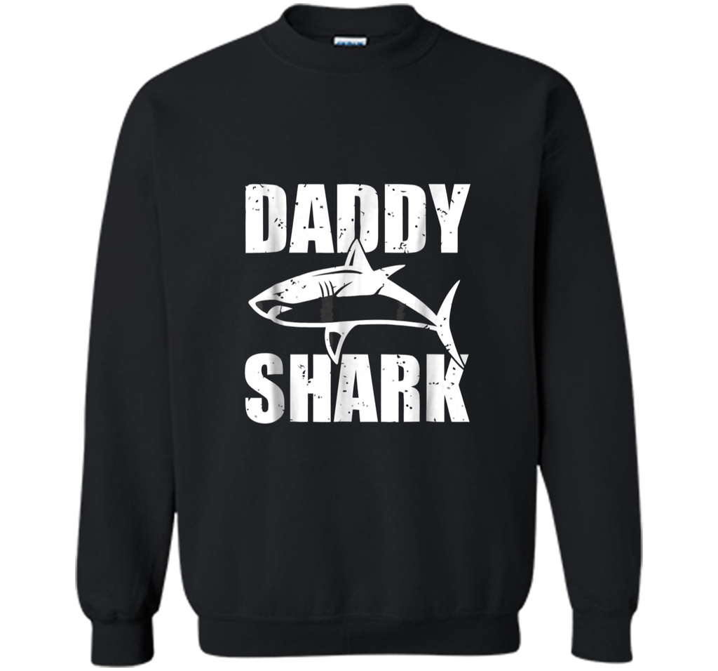 Daddy Shark Shirt - Fathers Day Gift from Wife Son Daughter