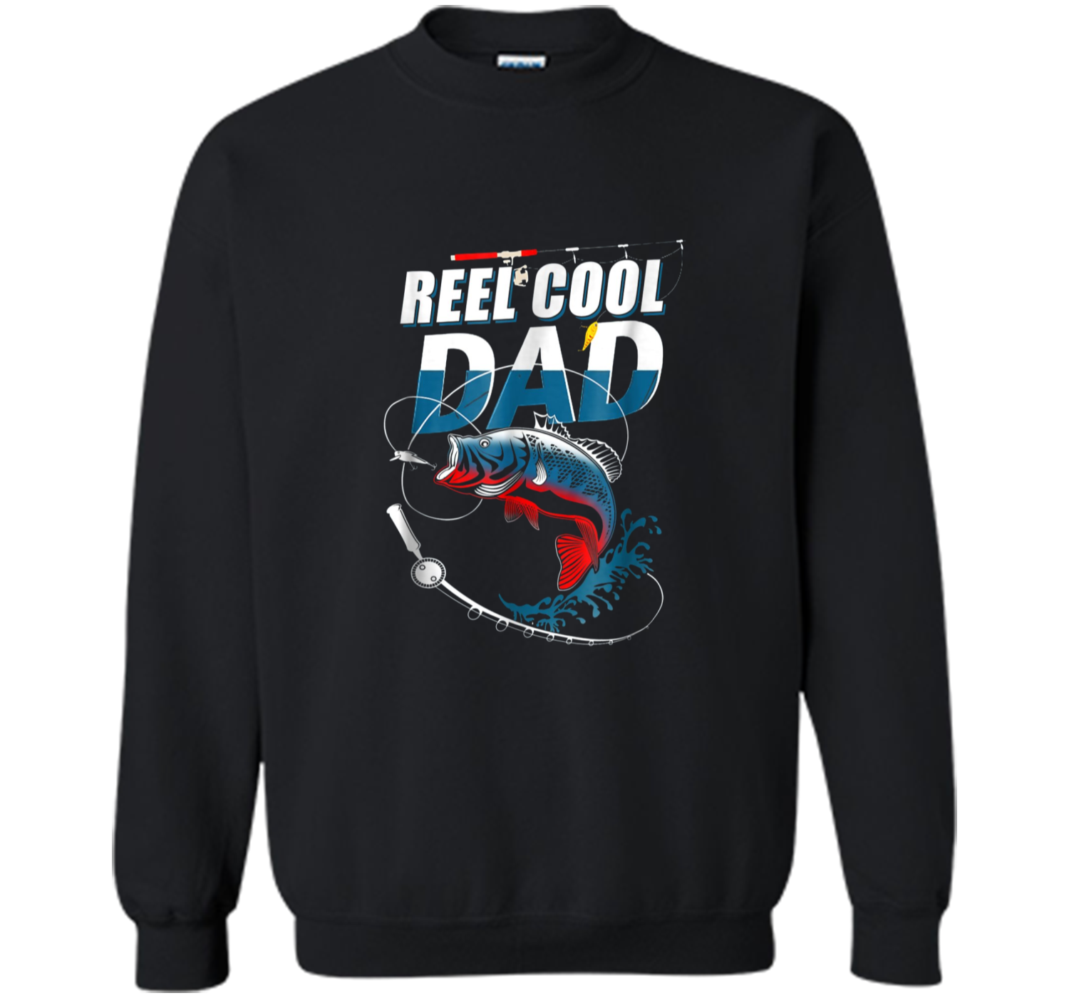 11d0ca77d Mens Reel Cool Dad T-Shirt Fishing Daddy Father's Day Gift S Printed ...