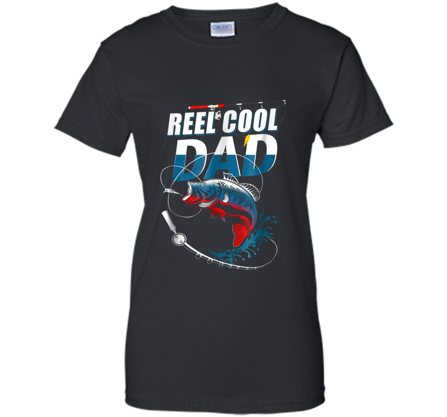 18148c22d Mens Reel Cool Dad T-Shirt Fishing Daddy Father's Day Gift S Ladies ...