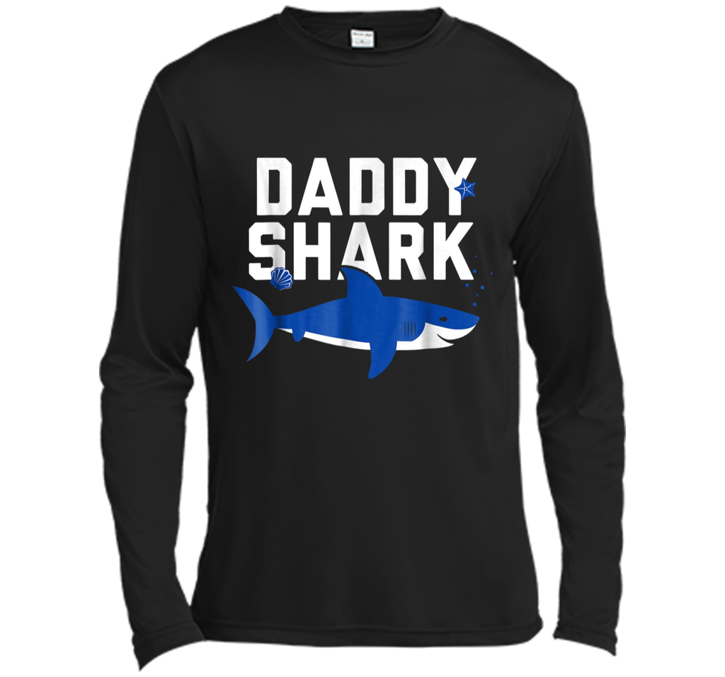 Daddy Shark T Shirt Funny Father's Day Gift