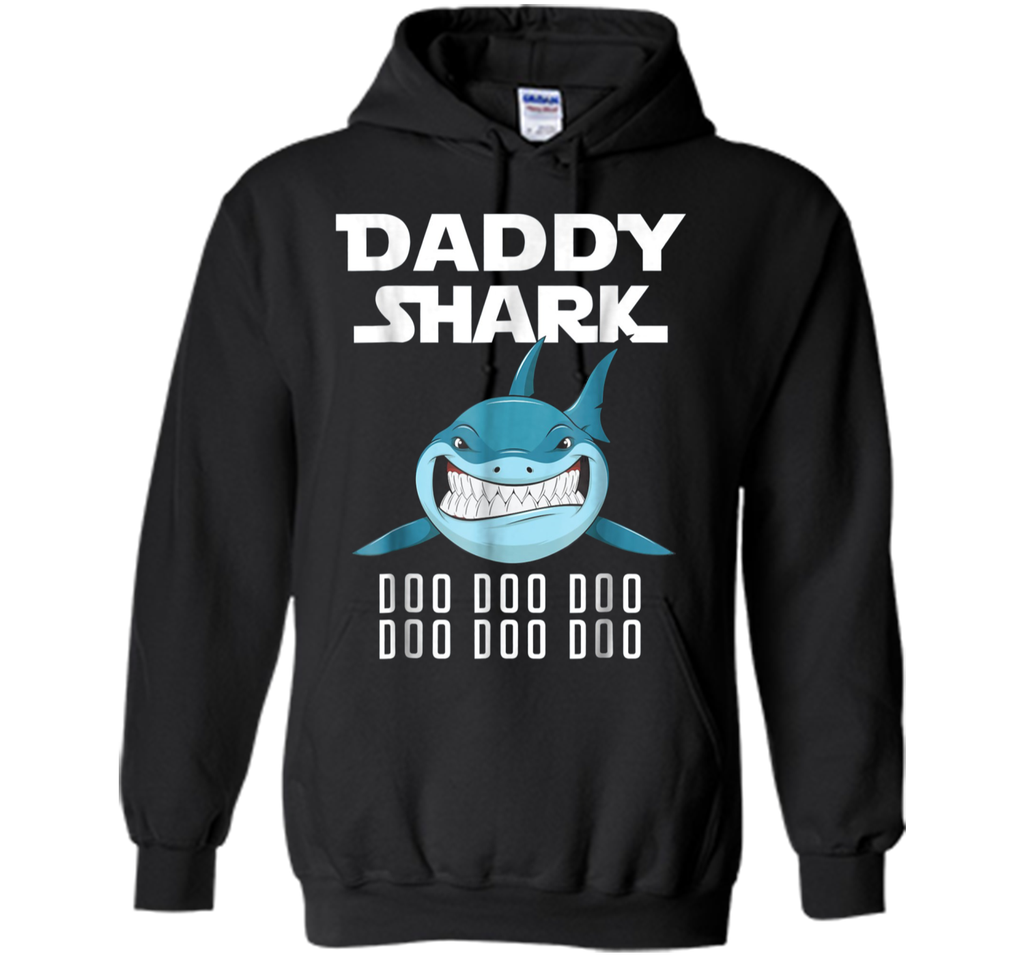 Car Play Mat 2-sided Shirt On Daddy's Back Daddy Shark Tee