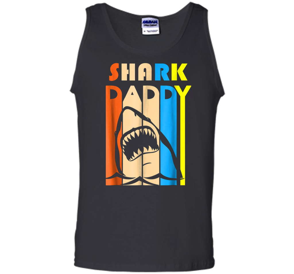 Shark Daddy Funny Tshirt Gift Father's Day 2018