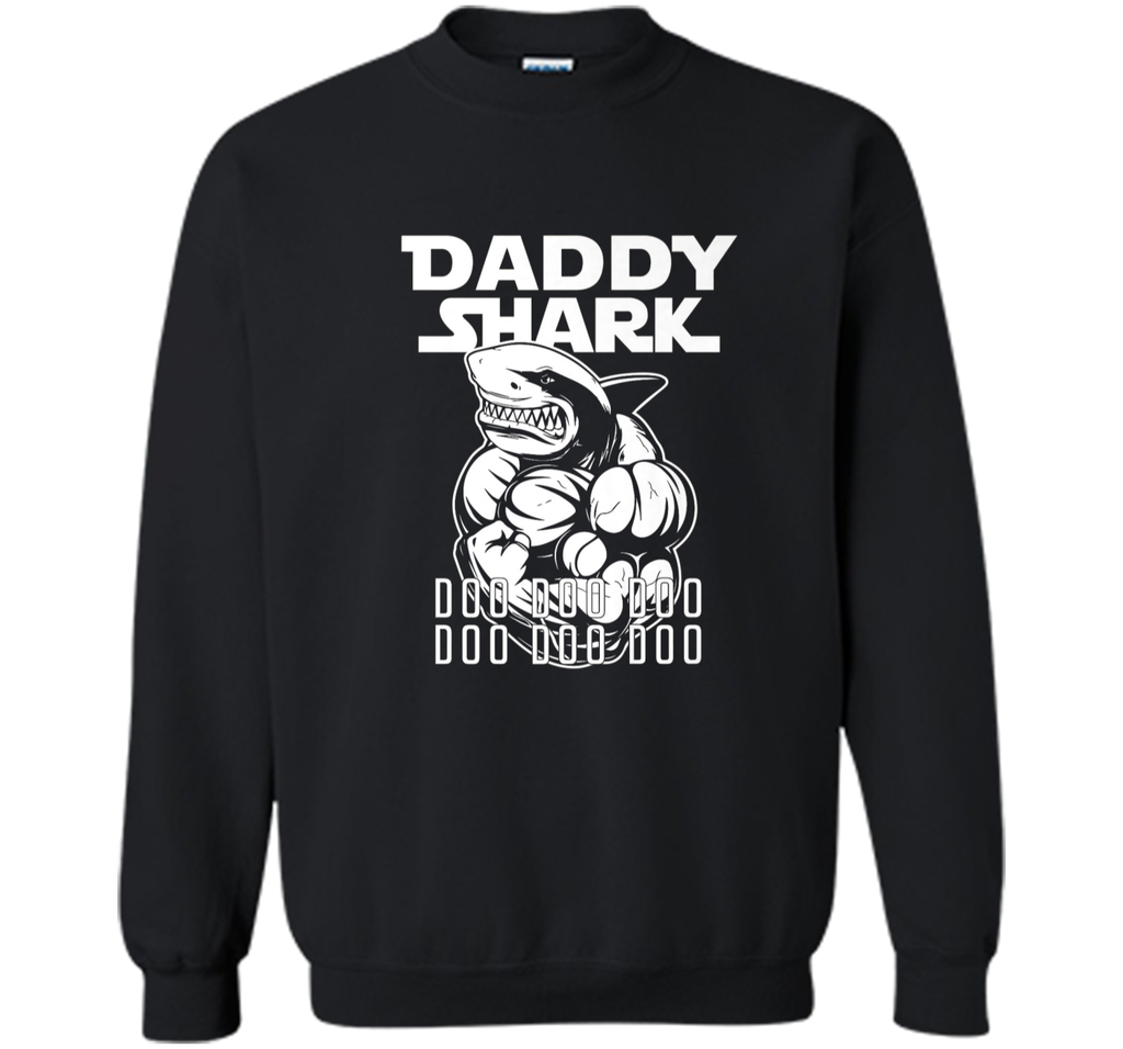 Daddy Shark Shirt - Father's Day Gift from Wife Son Daughter