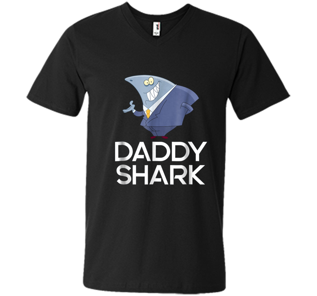 Daddy Shark T-shirt Doo Doo Doo - Father's Day Gift Tee