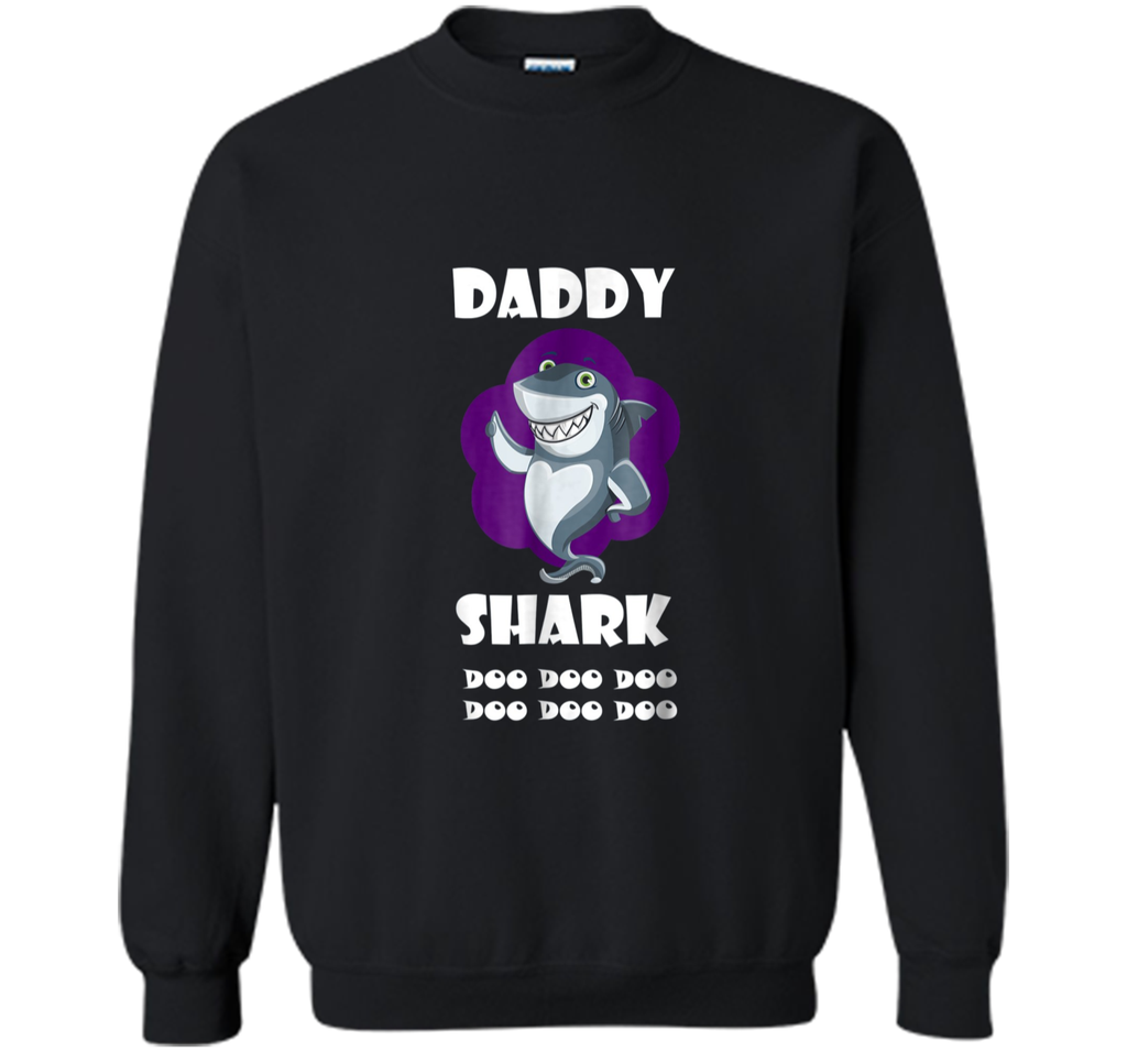 Daddy Shark Do Do Do Funny Father's Day Gift T-shirt