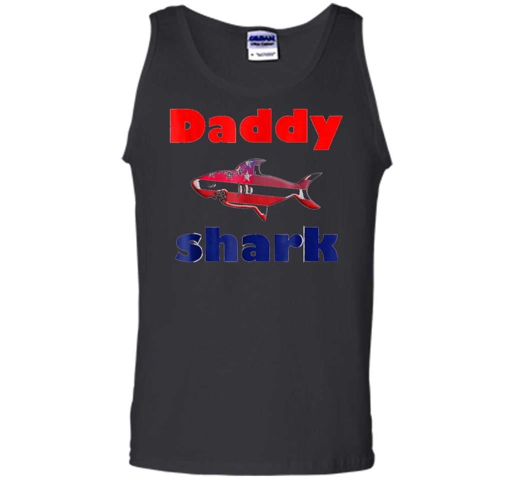Daddy Shark T-shirt Doo Doo Doo dada - Father's Day Gift Tee