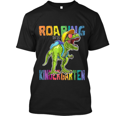 Roaring Kindergarten Dinosaur T Rex Back to School  Boy Custom Ultra Cotton