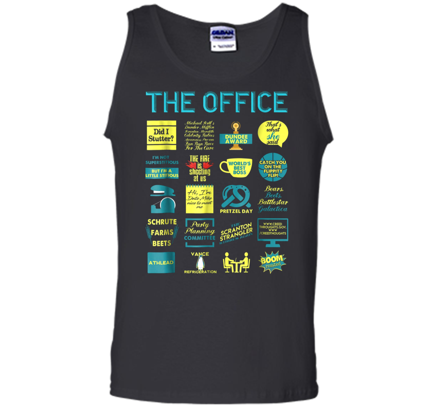 32a309807 The Office Quote Mash-Up Funny - Official Tee Tank Top Tank Top ...