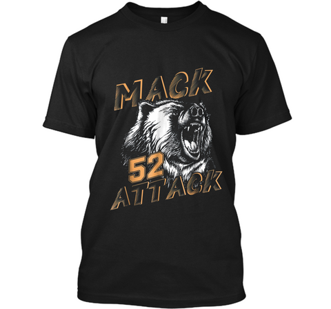 Mack Attack Bear Beast Chicago Welcome New Player 52 Custom Ultra Cotton