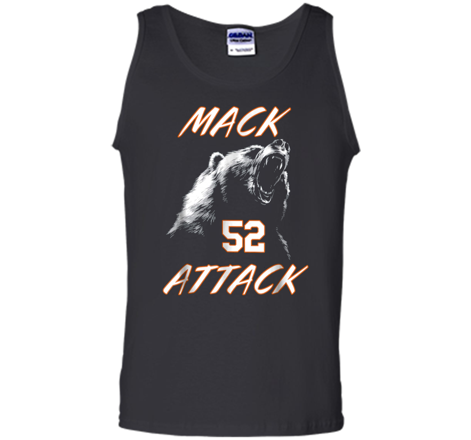 Mack Attack Bear Beast Chicago Welcome New Player 52 Tank Top Tank ... b9a0c2428