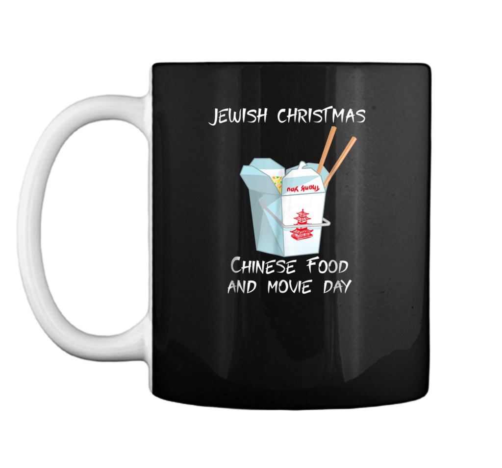 Jewish Christmas - Chinese food Movie  Mug