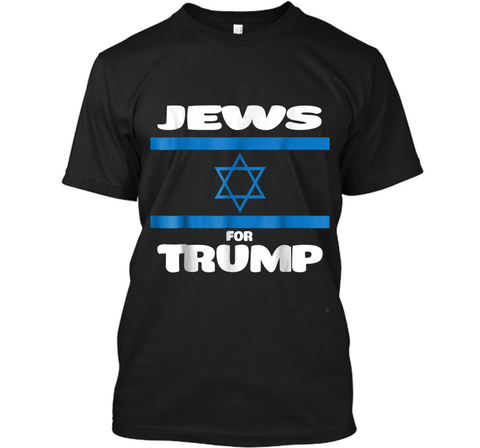 Jews Jewish Israel Flag for Trump Pro Republican Support Custom Ultra Cotton