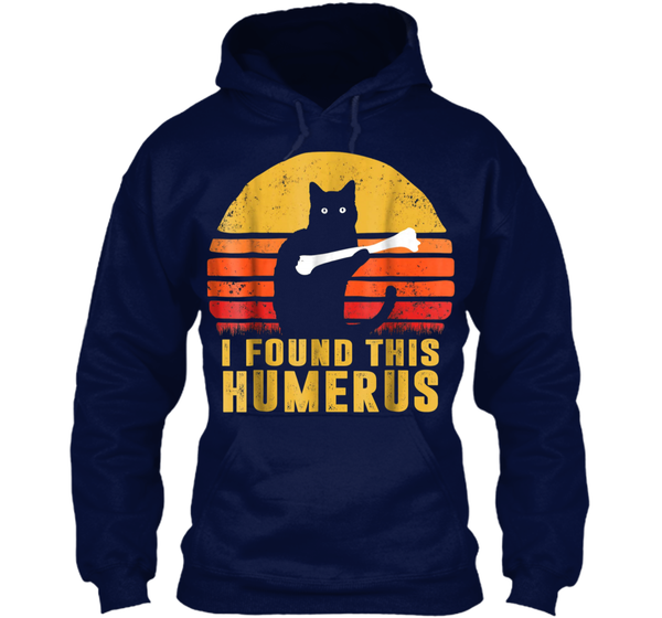 8b28d288 I Found This Humerus Cats - Vintage Pullover Hoodie 8 oz Pullover Hoodie 8  oz – Pin My Tees