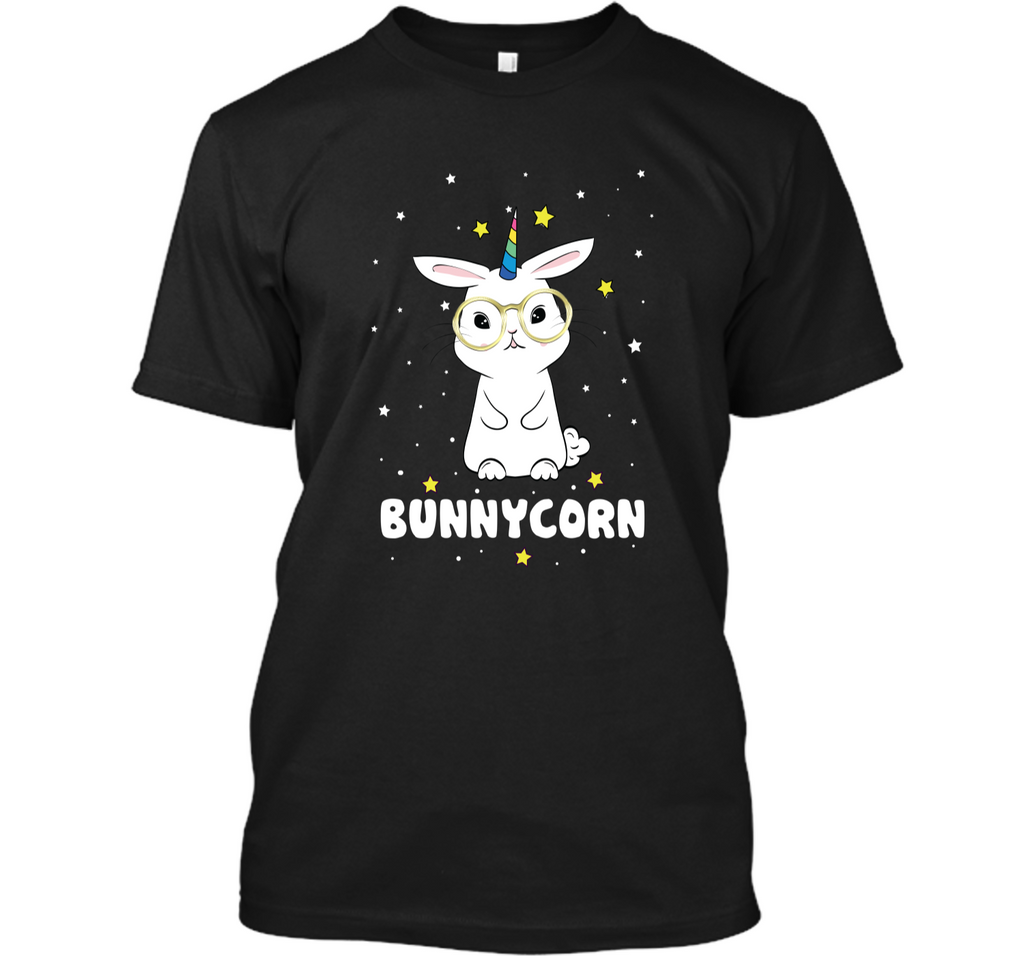 Bunnycorn! Funny Unicorn Easter Bunny T-Shirt Custom Ultra Cotton