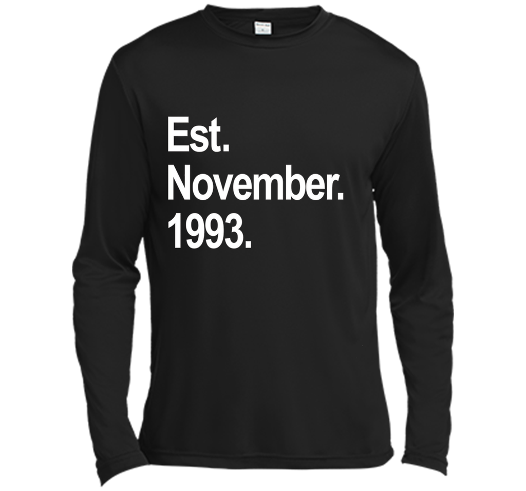 Est November 1993 Shirt Awesome 24th Birthday Gifts TShirt shirt