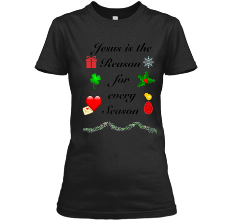 Christmas Easter St. Valentines St Patricks Day T-shirt Ladies Custom
