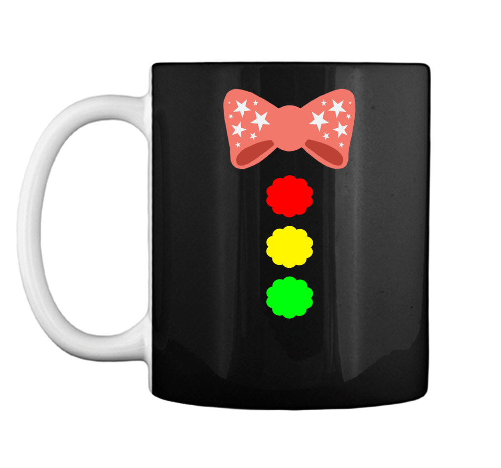 Clown Bow Tie Funny Halloween Costume Graphic Mug